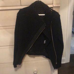 Wool, weaves sweater